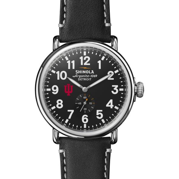 Indiana Shinola Watch, The Runwell 47mm Black Dial - Image 2