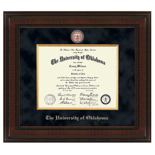 Oklahoma Excelsior Bachelor's/Master's Diploma Frame
