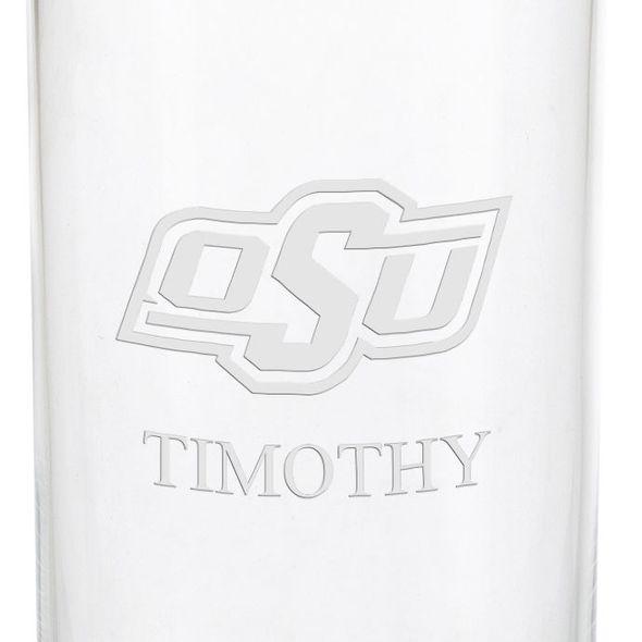 Oklahoma State University Iced Beverage Glasses - Set of 2 - Image 3