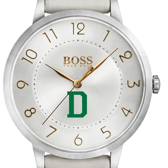 Dartmouth College Women's BOSS White Leather from M.LaHart