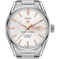 Duke Fuqua Men's TAG Heuer Day/Date Carrera with Silver Dial & Bracelet
