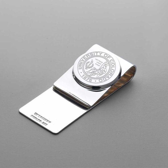 Colorado Sterling Silver Money Clip - Image 1