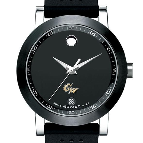 George Washington Men's Movado Museum Sport Rubber Strap - Image 1
