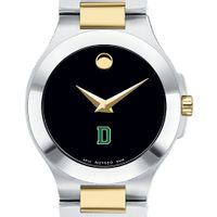 Dartmouth Women's Movado Collection Two-Tone Watch with Black Dial