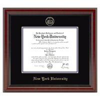 NYU Fidelitas Diploma Frame