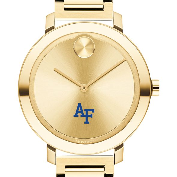 US Air Force Academy Women's Movado Gold Bold 34 - Image 1