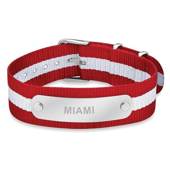 Miami University in Ohio NATO ID Bracelet