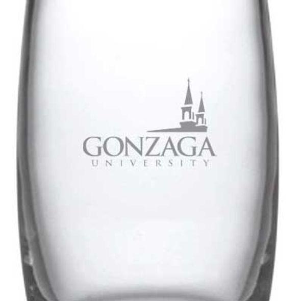 Gonzaga Glass Addison Vase by Simon Pearce - Image 2