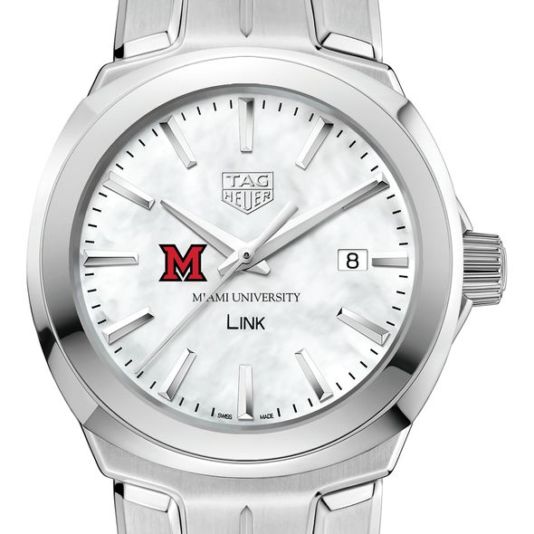 Miami University TAG Heuer LINK for Women