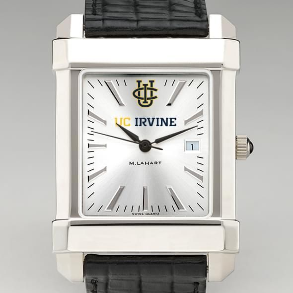 University of California, Irvine Men's Collegiate Watch with Leather Strap - Image 1