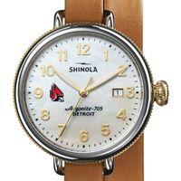 Ball State Shinola Watch, The Birdy 38mm MOP Dial