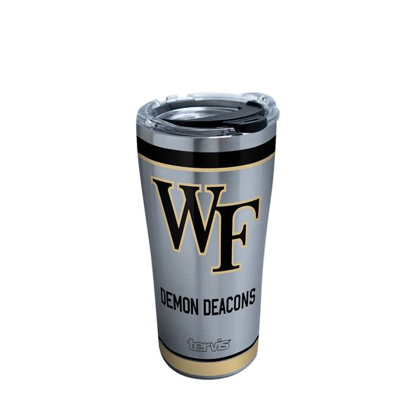 Wake Forest 20 oz. Stainless Steel Tervis Tumblers with Hammer Lids - Set of 2