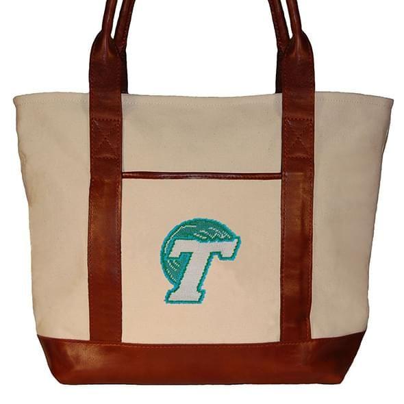 Tulane University Needlepoint Tote - Image 2