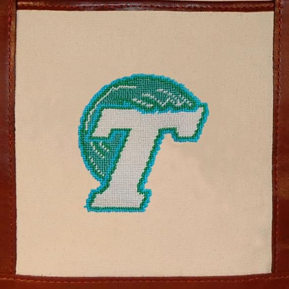 Tulane University Needlepoint Tote - Image 3