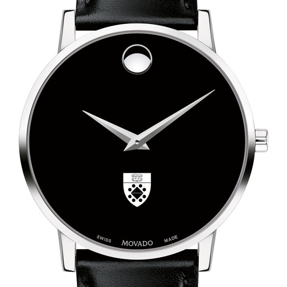 Yale SOM Men's Movado Museum with Leather Strap - Image 1