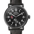Ball State Shinola Watch, The Runwell 41mm Black Dial - Image 1