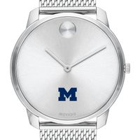 University of Michigan Men's Movado Stainless Bold 42