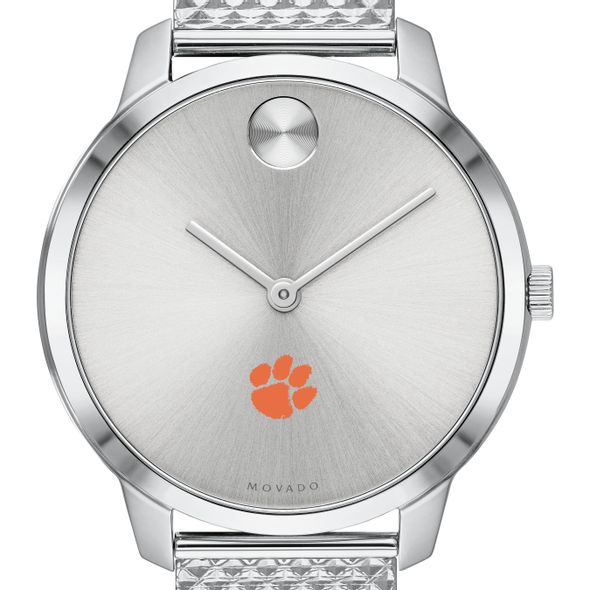 Clemson Women's Movado Stainless Bold 35