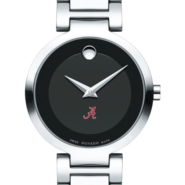 University of Alabama Women's Movado Museum with Steel Bracelet