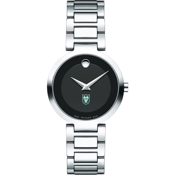 Tulane University Women's Movado Museum with Steel Bracelet - Image 2