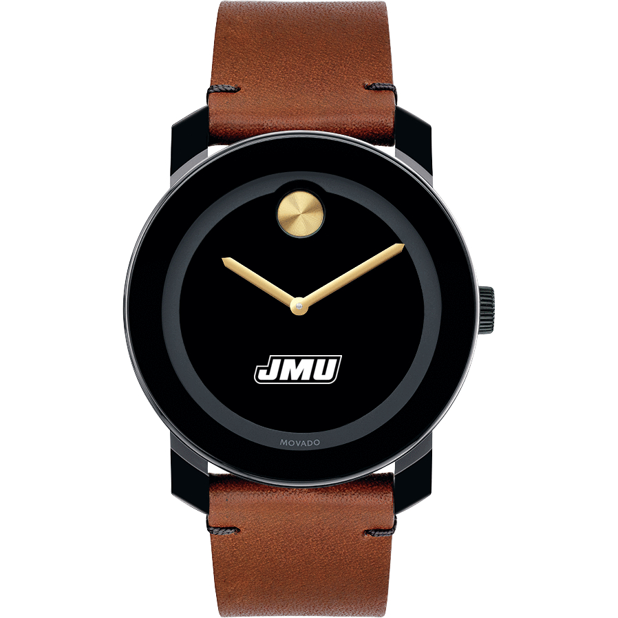 James Madison Men's Movado BOLD with Brown Leather Strap - Image 2
