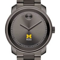Michigan Ross Men's Movado BOLD Gunmetal Grey