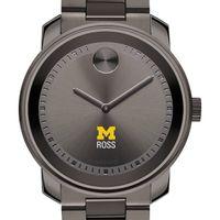 Michigan Ross Men's Movado BOLD Gunmetal Grey
