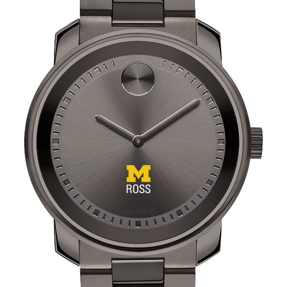 Michigan Ross Men's Movado BOLD Gunmetal Grey - Image 1