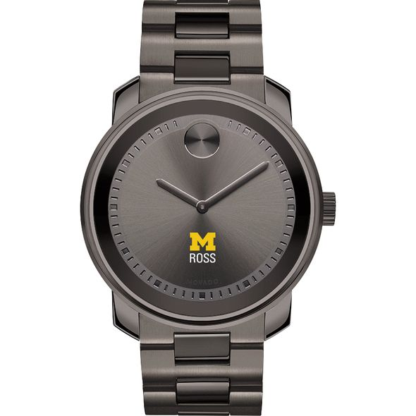 Michigan Ross Men's Movado BOLD Gunmetal Grey - Image 2