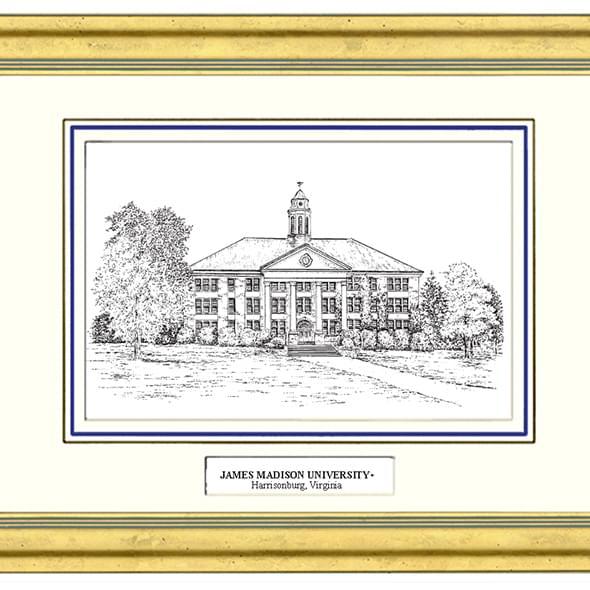 James Madison Black Ink Gold Frame - Image 2