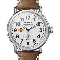 Iowa State Shinola Watch, The Runwell 41mm White Dial