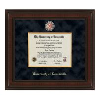 University of Louisville Diploma Frame - Excelsior