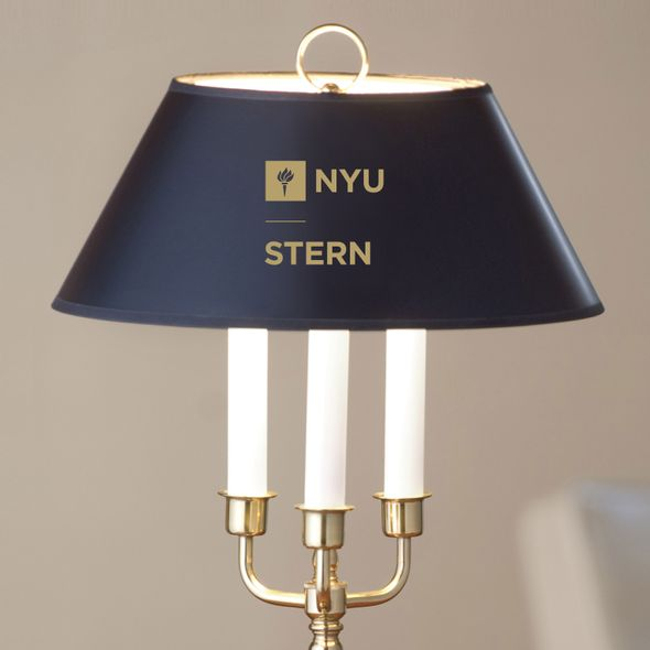 NYU Stern Lamp in Brass & Marble - Image 2