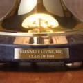 NYU Stern Lamp in Brass & Marble - Image 3