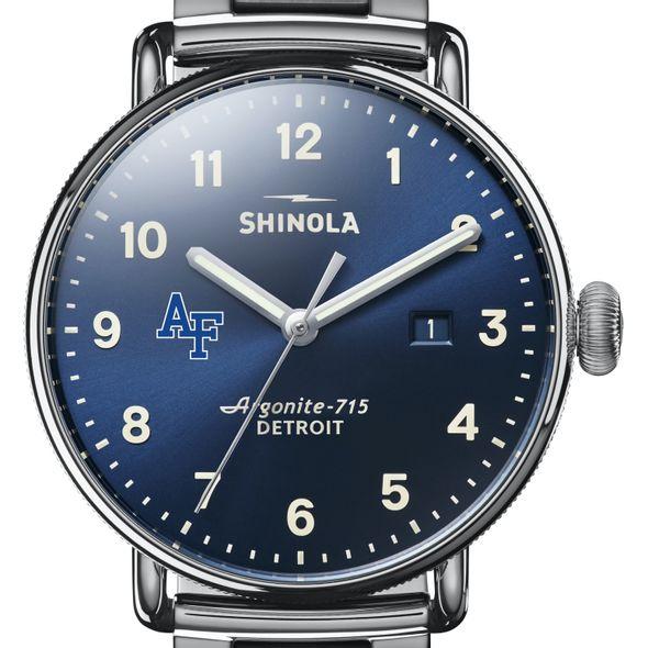 USAFA Shinola Watch, The Canfield 43mm Blue Dial - Image 1
