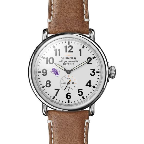 SFASU Shinola Watch, The Runwell 47mm White Dial - Image 2