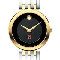 Harvard University Women's Movado Esparanza Two-Tone Museum with Bracelet