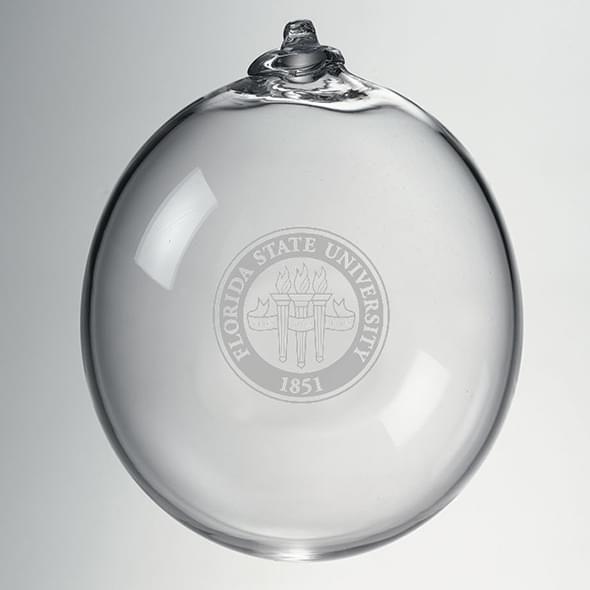 Florida State Glass Ornament by Simon Pearce - Image 2