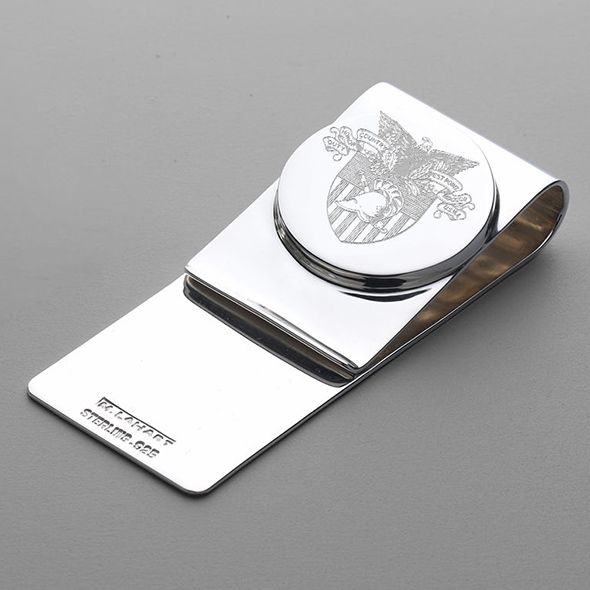 West Point Sterling Silver Money Clip - Image 1