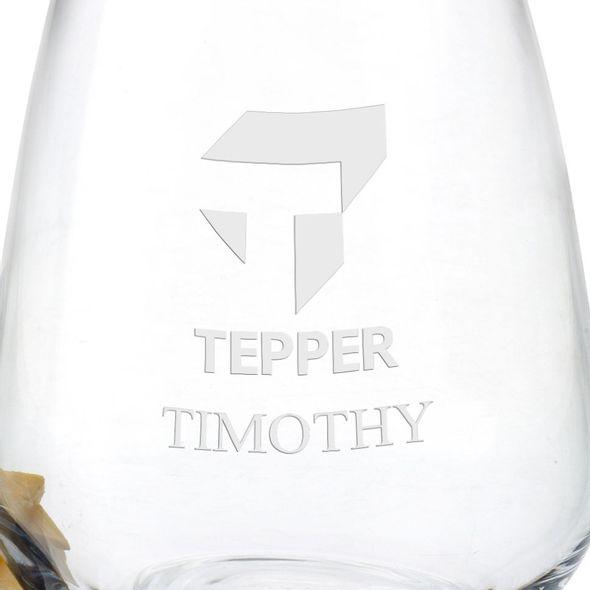Tepper Stemless Wine Glasses - Set of 4 - Image 3