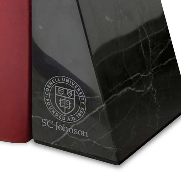 SC Johnson College Marble Bookends by M.LaHart - Image 2