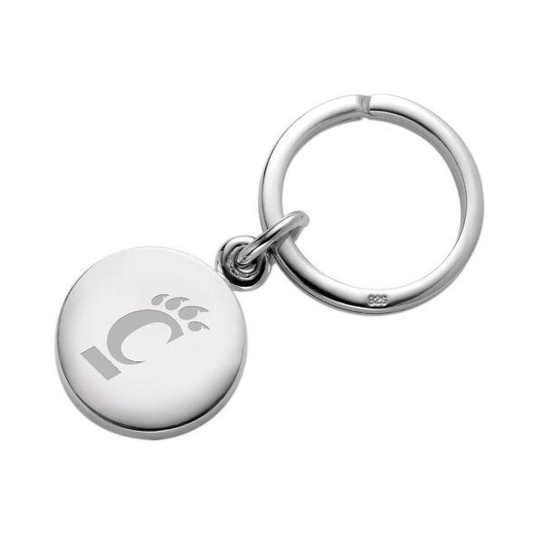 Cincinnati Sterling Silver Insignia Key Ring - Image 1