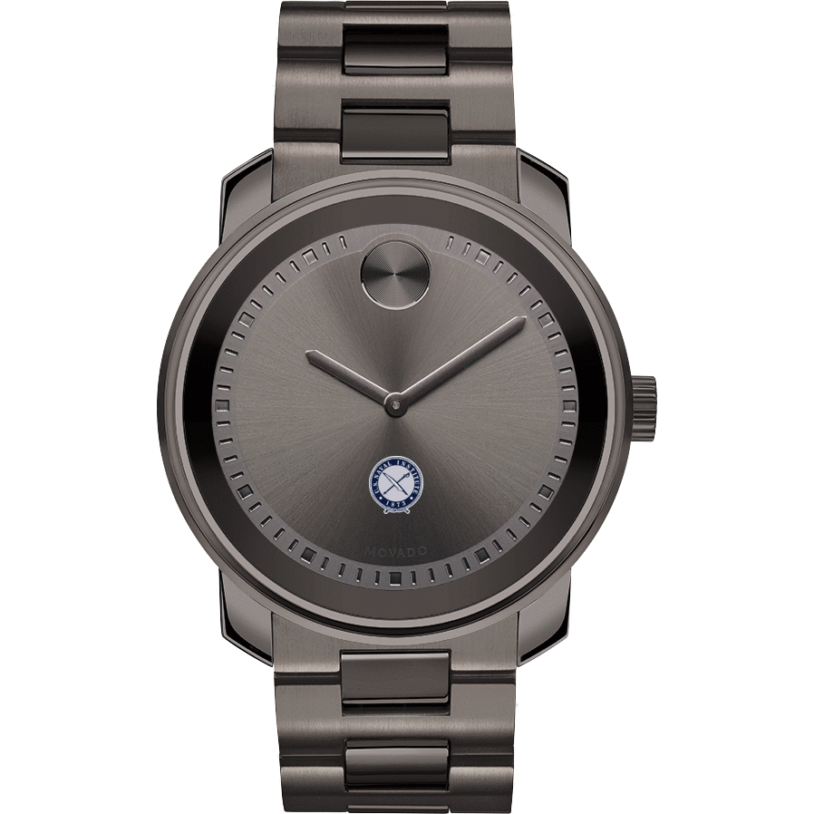 U.S. Naval Institute Men's Movado BOLD Gunmetal Grey - Image 2