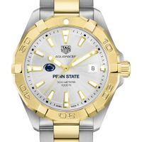 Penn State University Men's TAG Heuer Two-Tone Aquaracer