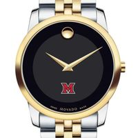 Miami University Men's Movado Two-Tone Museum Classic Bracelet