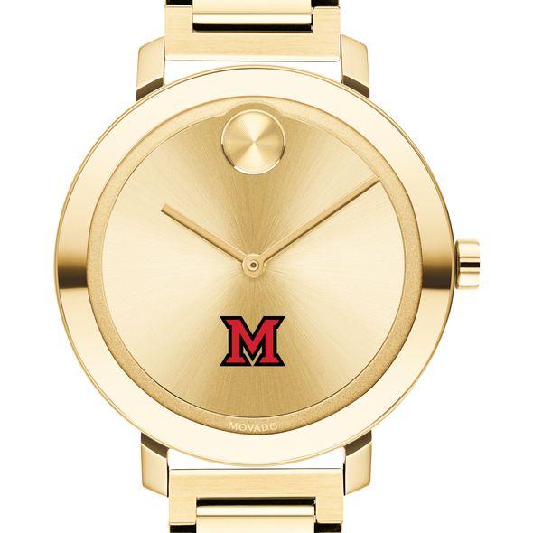 Miami University Women's Movado Gold Bold 34