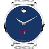 MIT Men's Movado Museum with Blue Dial & Mesh Bracelet