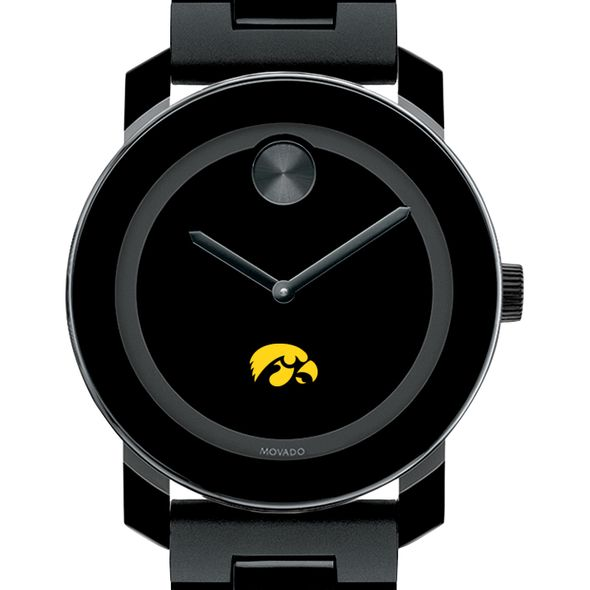University of Iowa Men's Movado BOLD with Bracelet - Image 1