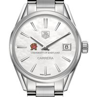 University of Maryland Women's TAG Heuer Steel Carrera with MOP Dial