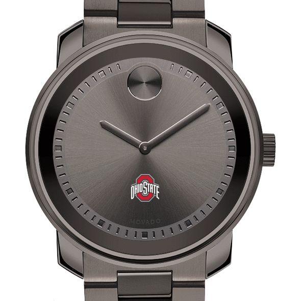 Ohio State Men's Movado BOLD Gunmetal Grey - Image 1